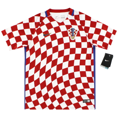 2016-18 Croatia Nike Home Shirt *w/tags* M.Boys