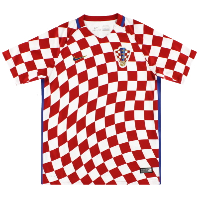 2016-18 Croatia Nike Home Shirt *As New* M.Boys