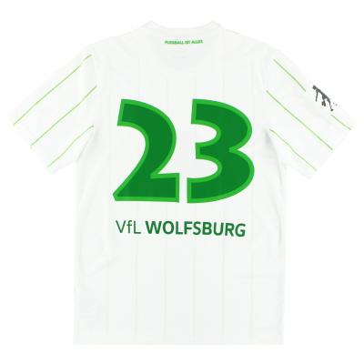2016-18 Wolfsburg Match Issue Away Shirt #23 S