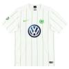 2016-18 Wolfsburg Match Issue Away Shirt #14 S
