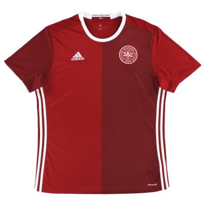 2016 Denmark adidas Home Shirt *Mint* L