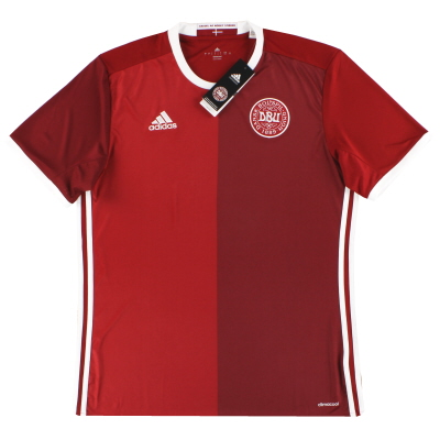 2016 Denmark adidas Home Shirt *BNIB* L