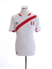 2016 Peru Copa America Home Shirt S
