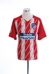 2017-18 Atletico Madrid Home Shirt M