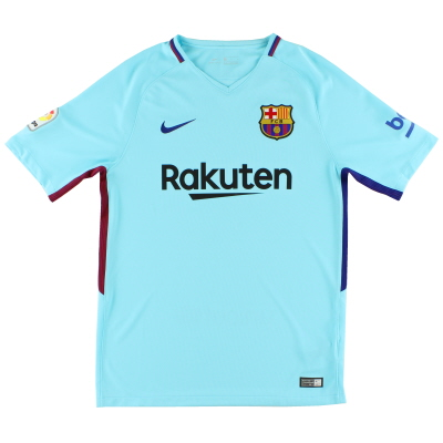 2017-18 Barcelona Away Shirt S