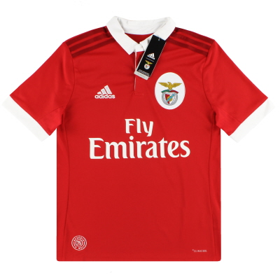 2017-18 Benfica adidas Home Shirt *BNIB* S.Boys