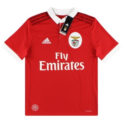 2017-18 Benfica adidas Home Shirt *BNIB* L.Boys
