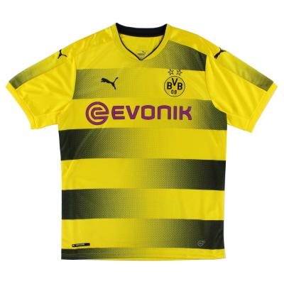 2017-18 Borussia Dortmund Puma Home Shirt S