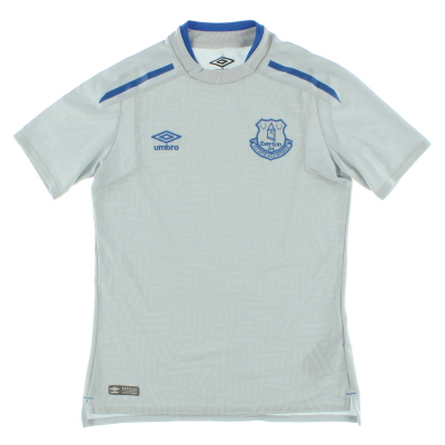 2017-18 Everton Away Shirt L.Boys