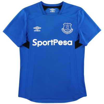 2017-18 Everton Umbro Training Shirt S