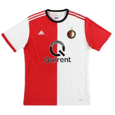 2017-18 Feyenoord adidas Home Shirt XL