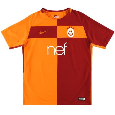 2017-18 Galatasaray Nike Home Shirt XL.Boys