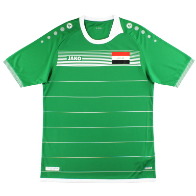 2017-18 Iraq Jako Home Shirt *As New*