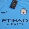 2017-18 Manchester City Home Shirt *w/tags* XL.Boys