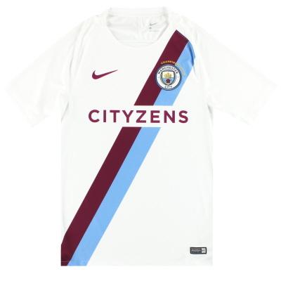 2017-18 Manchester City Nike Pre-Match Shirt *As New* S