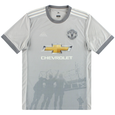 2017-18 Manchester United adidas Third Shirt *Mint* M