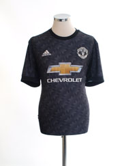 2017-18 Manchester United Away Shirt *Mint* L