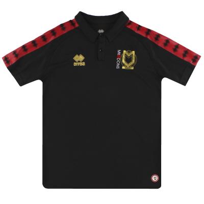 2017-18 MK Dons Errea Polo Shirt *Mint* S