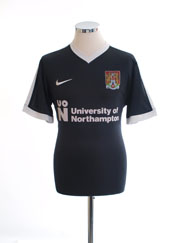 2017-18 Northampton Away Shirt #24 L