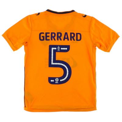 2017-18 Oldham Away Shirt Gerrard #5 Y