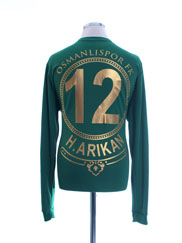 2017-18 Osmanlispor Match Issue GK  Shirt H. Arikan #12 *As New* XL