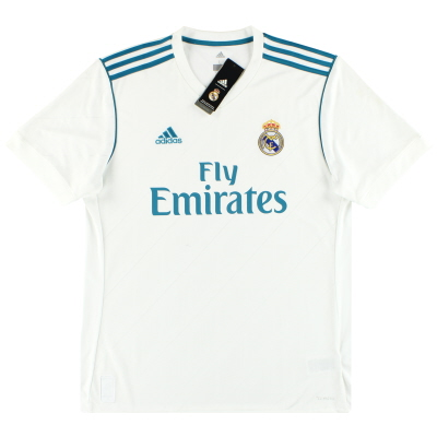 2017-18 Real Madrid adidas Home Shirt *w/tags* L
