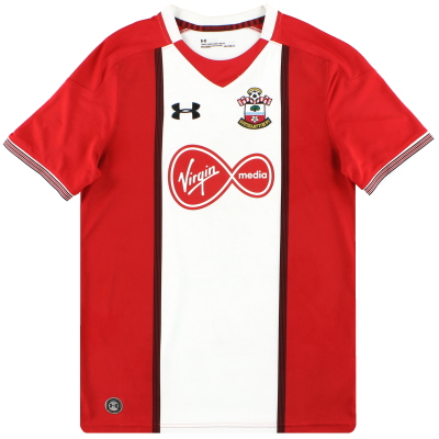 2017-18 Southampton Under Armour Home Shirt L