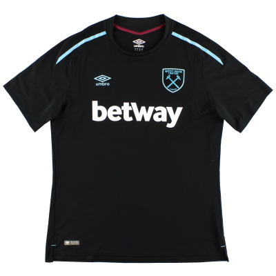 2017-18 West Ham Umbro Away Shirt *Mint* XL