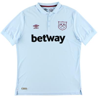 2017-18 West Ham Third Shirt *Mint* XL