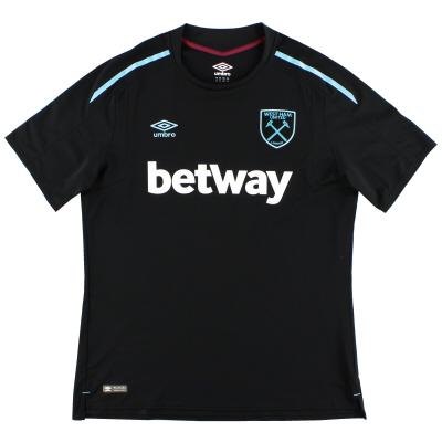 2017-18 West Ham Umbro Away Shirt XXXL