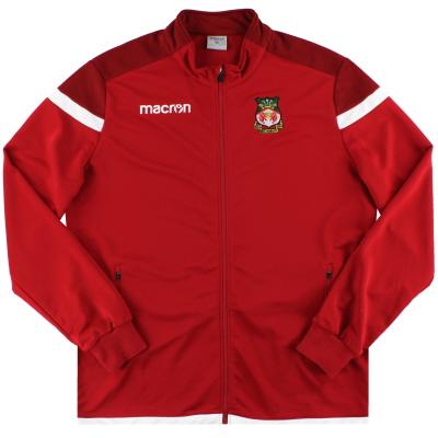 2017-18 Wrexham Macron Track Jacket *Mint* 4XL