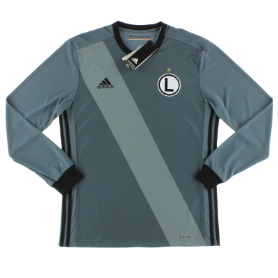 2017-19 Legia Warsaw Away Shirt L/S *BNIB* M