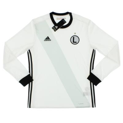2017-19 Legia Warsaw Home Shirt L/S *BNIB*