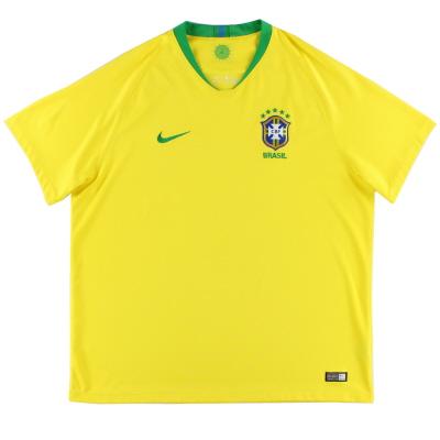 2018-19 Brazil Home Shirt XXL