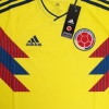 2018-19 Colombia Home Shirt L/S *BNIB*