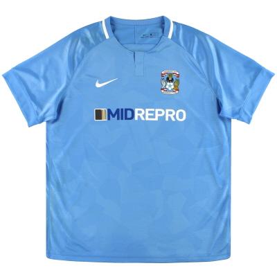 2018-19 Coventry Nike Home Shirt XXL