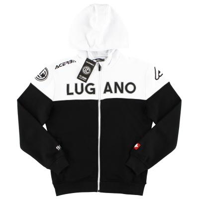 2018-19 FC Lugano Acerbis Full Zip Hoodie *BNIB*
