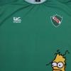 2018-19 Ferro de General Pico 'Homer Simpson' GK Shirt