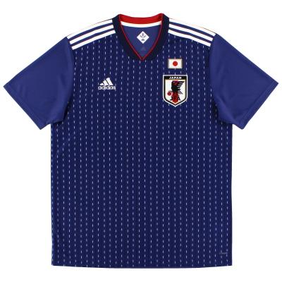 2018-19 Japan adidas Home Shirt *Mint* L