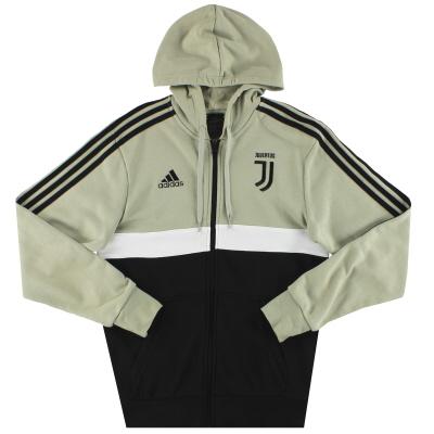 2018-19 Juventus adidas 3 Stripes Full-Zip Hoodie S
