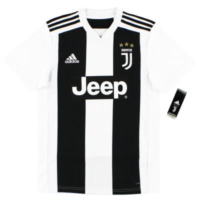 2018-19 Juventus adidas Home Shirt  *BNIB* L.Boys