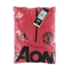 2018-19 Manchester United 1/4 Zip Hooded Training Top L/S *BNIB* S
