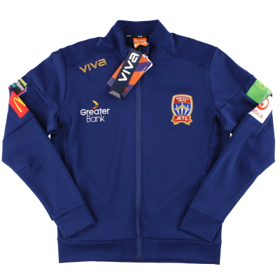 2018-19 Newcastle Jets Viva Authentic Track Jacket *w/tags* M