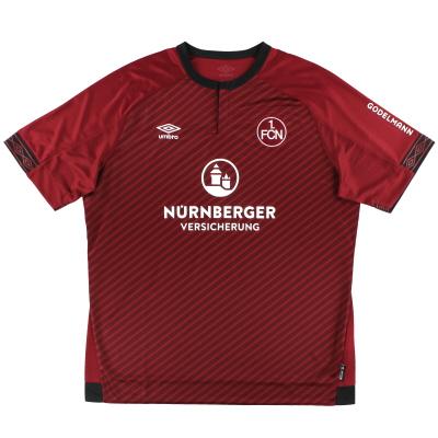 2018-19 Nurnberg Umbro Home Shirt *As New* XXL