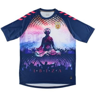 2018-19 Pena Deportiva Ibiza Hummel Third Shirt *As New* XL
