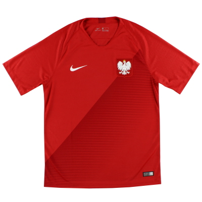 2018-19 Poland Nike Away Shirt *As New* L