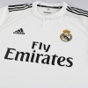 2018-19 Real Madrid adidas Player Issue Authentic Home Shirt *w/tags*