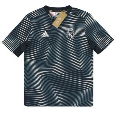 2018-19 Real Madrid adidas Pre-Match Shirt *BNIB* Y