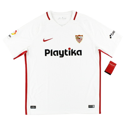 2018-19 Sevilla Nike Home Shirt *BNIB* S.Boys