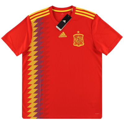 2018-19 Spain adidas Home Shirt *w/tags* L